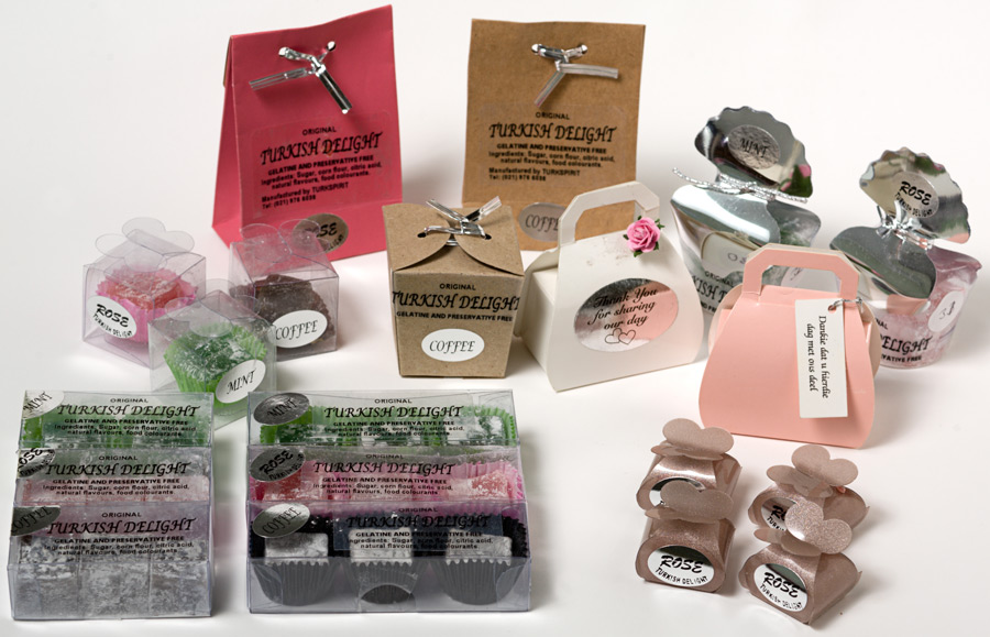 8 Small Gift Boxes The Original Turkish Delight
